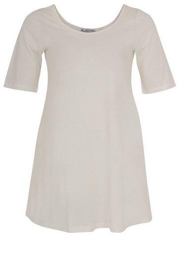 Yoek T-Shirt COTTON, mit kurzen Ärmeln
