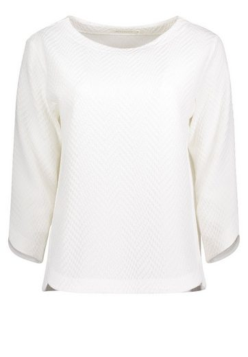 Betty&Co Sweatshirt mit Struktur und tollem Schnitt