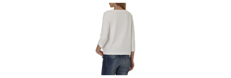 Betty&Co Sweatshirt mit Struktur und tollem Schnitt Freies Verschiffen Online-Shopping Rabatt Niedrigen Preis Versandgebühr Grau-Outlet-Store Online TbeWju7XL