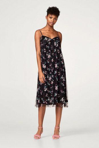 ESPRIT Chiffon-Kleid in modischer A-Linie