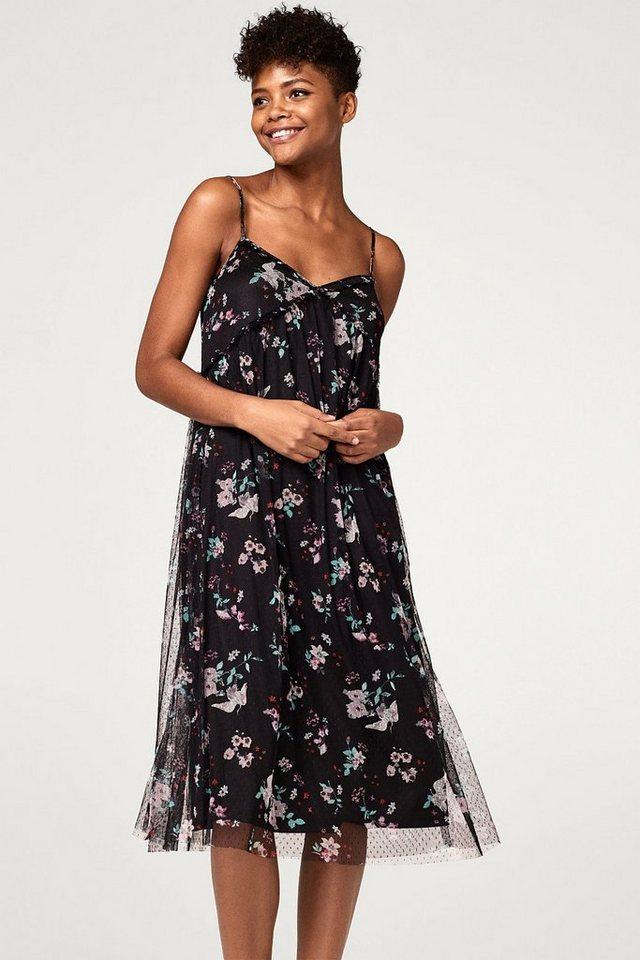 Esprit Chiffon-Kleid in modischer A-Linie kaufen   OTTO