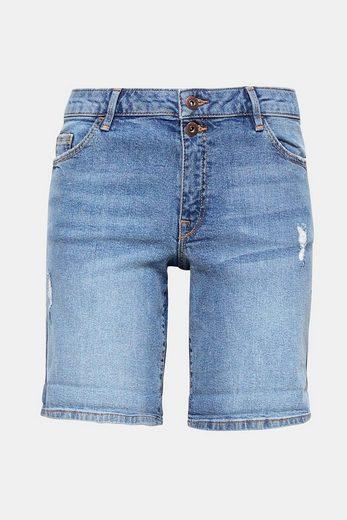EDC BY ESPRIT Jeans-Shorts mit zwei Knöpfen