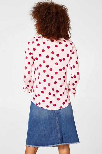 Esprit Cuddly Shirt With Polka-pat