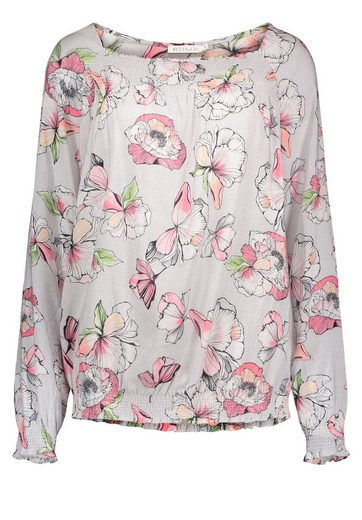 Betty&Co Bluse langarm mit tollem floralen Muster