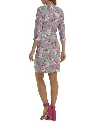 Betty&Co Gefüttertes Kleid Mit floralem Allover