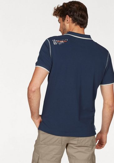 Rhode Island Poloshirt, hochwertige Piqué-Qualität