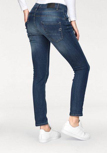 Please Jeans Boyfriend-Jeans P78A, mit prägnanter Knopfleiste