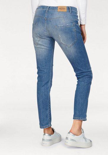 Please Jeans Boyfriend Jeans P85a, With Special Cut Back Management