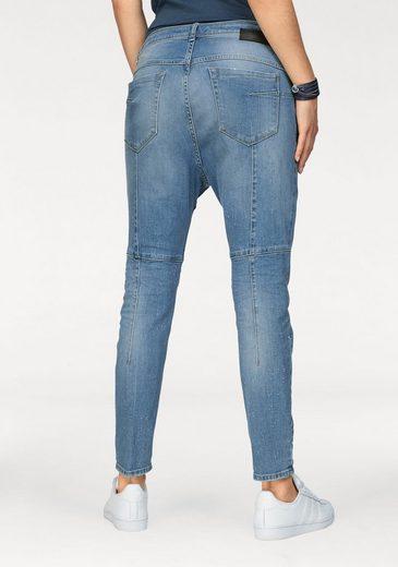 IMP by IMPERIAL Boyfriend-Jeans, mit Used-Effekten