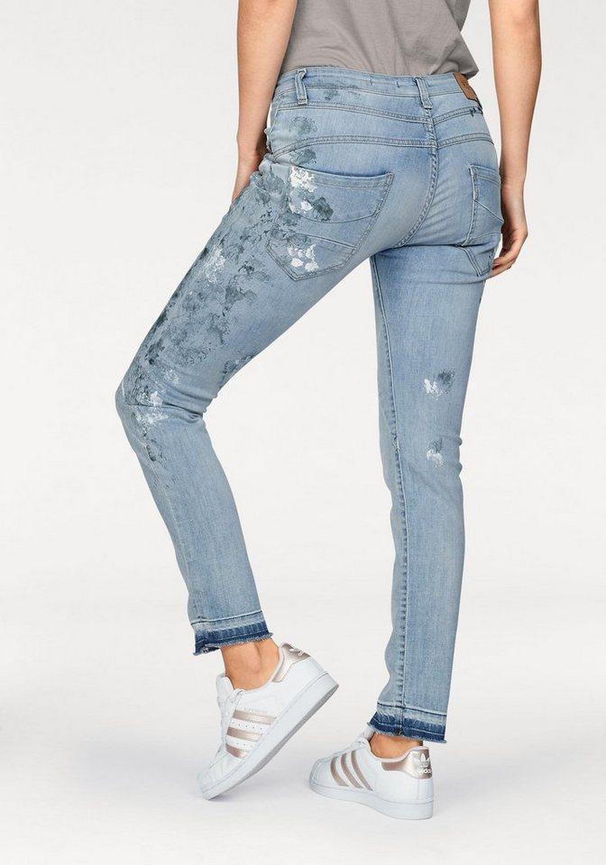 f02516ee8559 Please Jeans Boyfriend-Jeans »P78A« im bedrucktem Design online ...