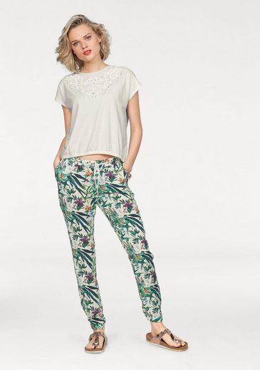 Mavi Jeans T-Shirt, mit erhabenem Frontprint