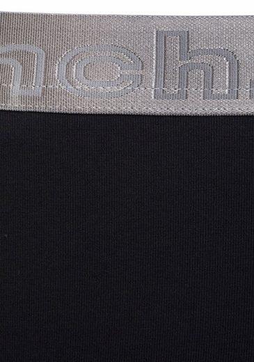 StückMit 3x Schwarz Bikinislips3 Silberfarbenem Bund Buffalo v8OynwmN0