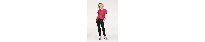Please Jeans T-Shirt, mit umgeschlagenem Ärmel