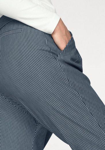 IMP by IMPERIAL Boyfriend-Hose, mit modischen Streifen