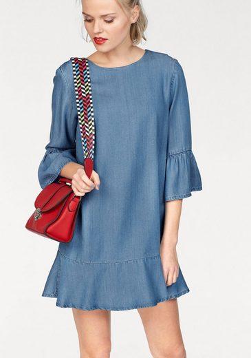 Mavi Jeans Jeanskleid, mit trendy Volants
