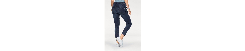 Please Jeans Jogg Pants P51G, mit coolen Wascheffekten