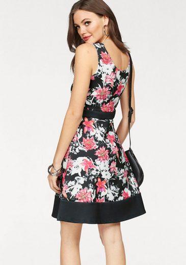 Melrose Jersey Dress, Floral Print