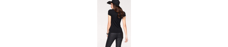 Melrose V-Shirt, mit Schnürung