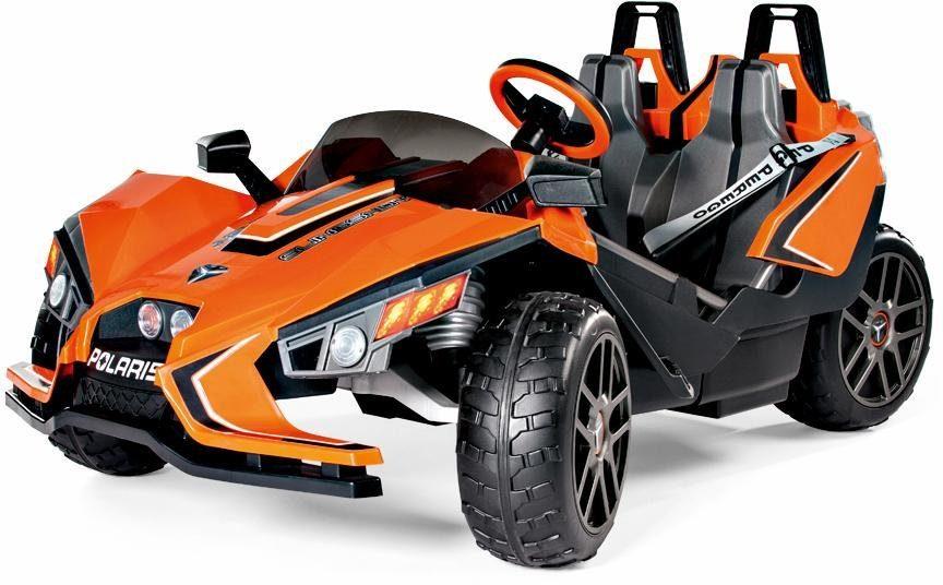 Peg-Pérego Elektrofahrzeug für Kinder Zweisitzer, »Polaris Slingshot - 12 Volt«