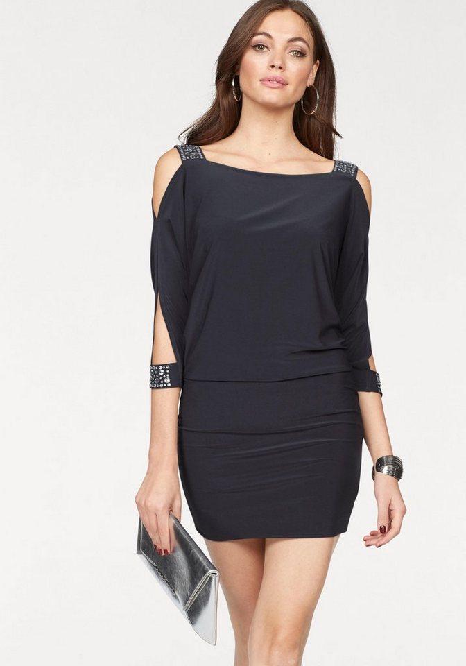 melrose jerseykleid mit schmucksteinen kaufen  otto