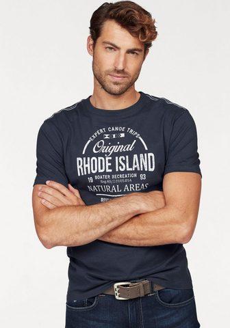 RHODE ISLAND Marškinėliai
