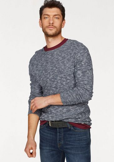 Jack & Jones Rundhalspullover JOR KEN KNIT CREW NECK