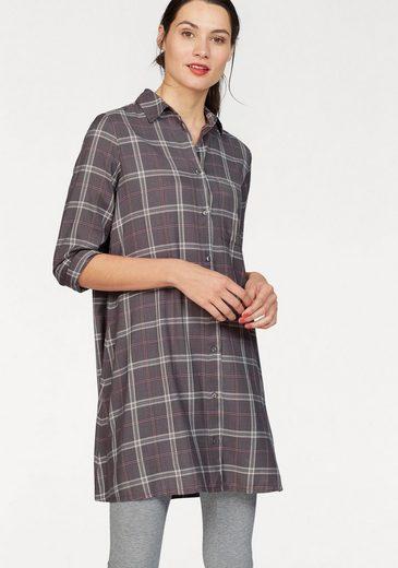 AJC Hemdblusenkleid im trendy Karo-Design