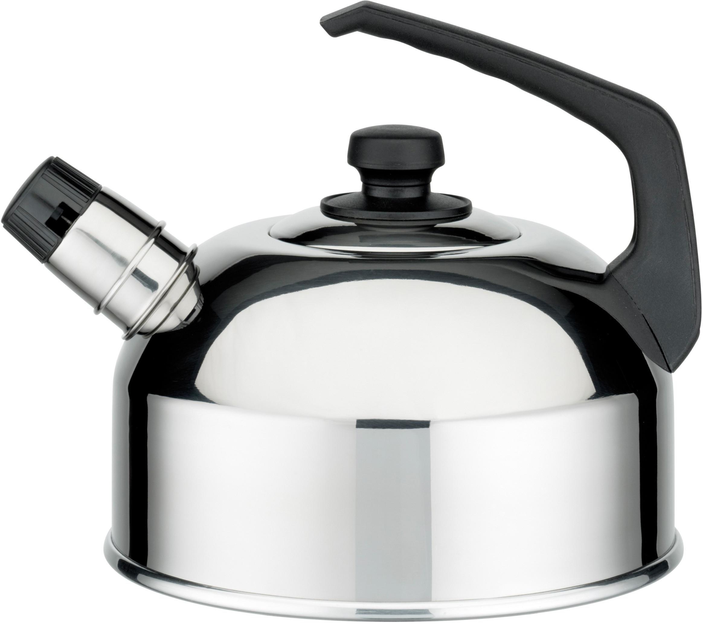 GSW Flötenkessel, Edelstahl, Ø 20 cm, »Classic« | Küche und Esszimmer > Küchengeräte > Wasserkocher | Edelstahl | GSW