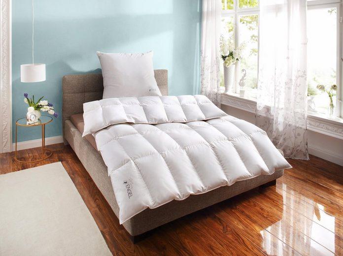 Gänsedaunenbettdecke, »Mein Engel«, Schlafstil, normal, Füllung: 100% Gänsedaunen, Bezug: 100% Baumwolle, (1-tlg)