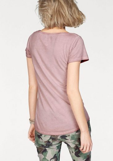 Coccara T-Shirt FINIA, mit Pailletten