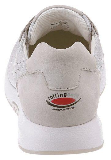 Gabor Rollingsoft Sneaker, mit Optifit Wechselfußbett
