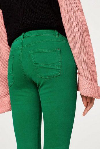 ESPRIT Schmale Stretch-Pants im Biker-Look