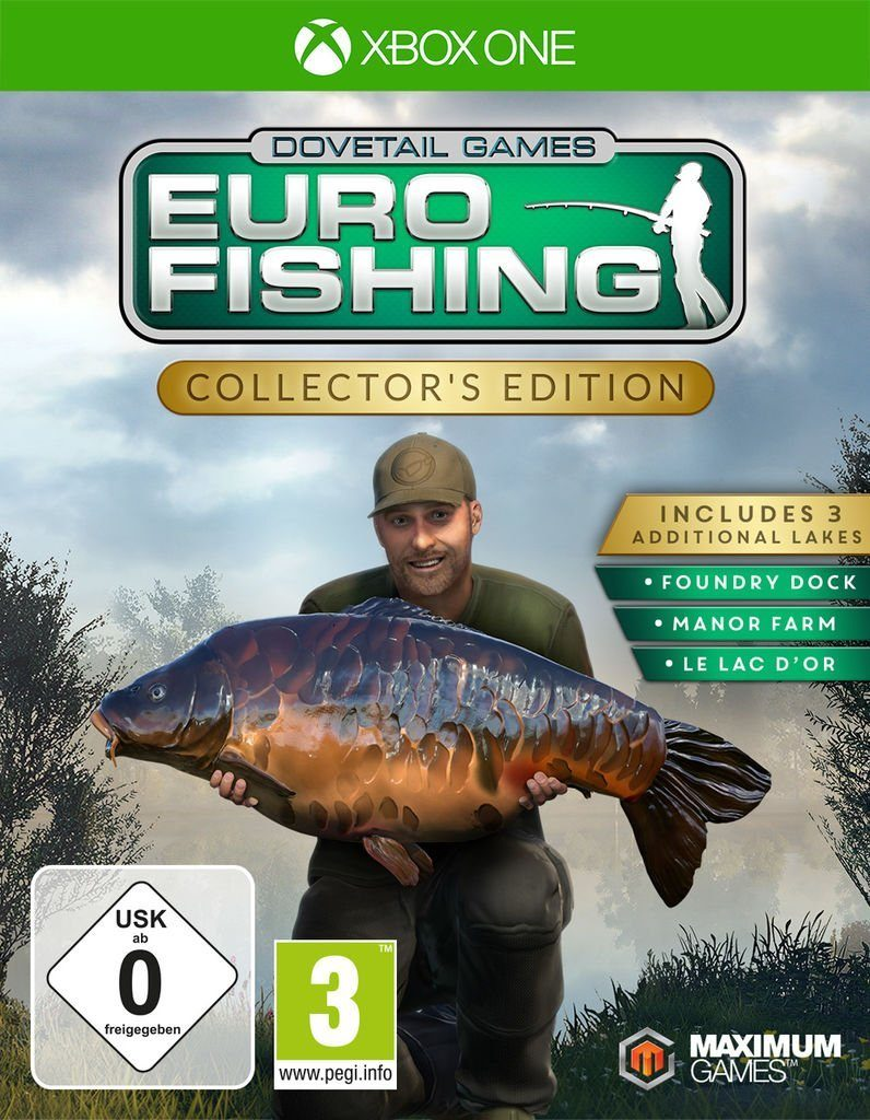 Maximum Games XBOX One - Spiel »Euro Fishing Collector's Edition«
