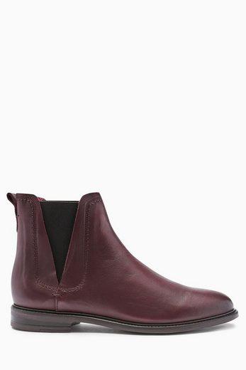 Next Lässige Chelsea-Stiefel aus Leder