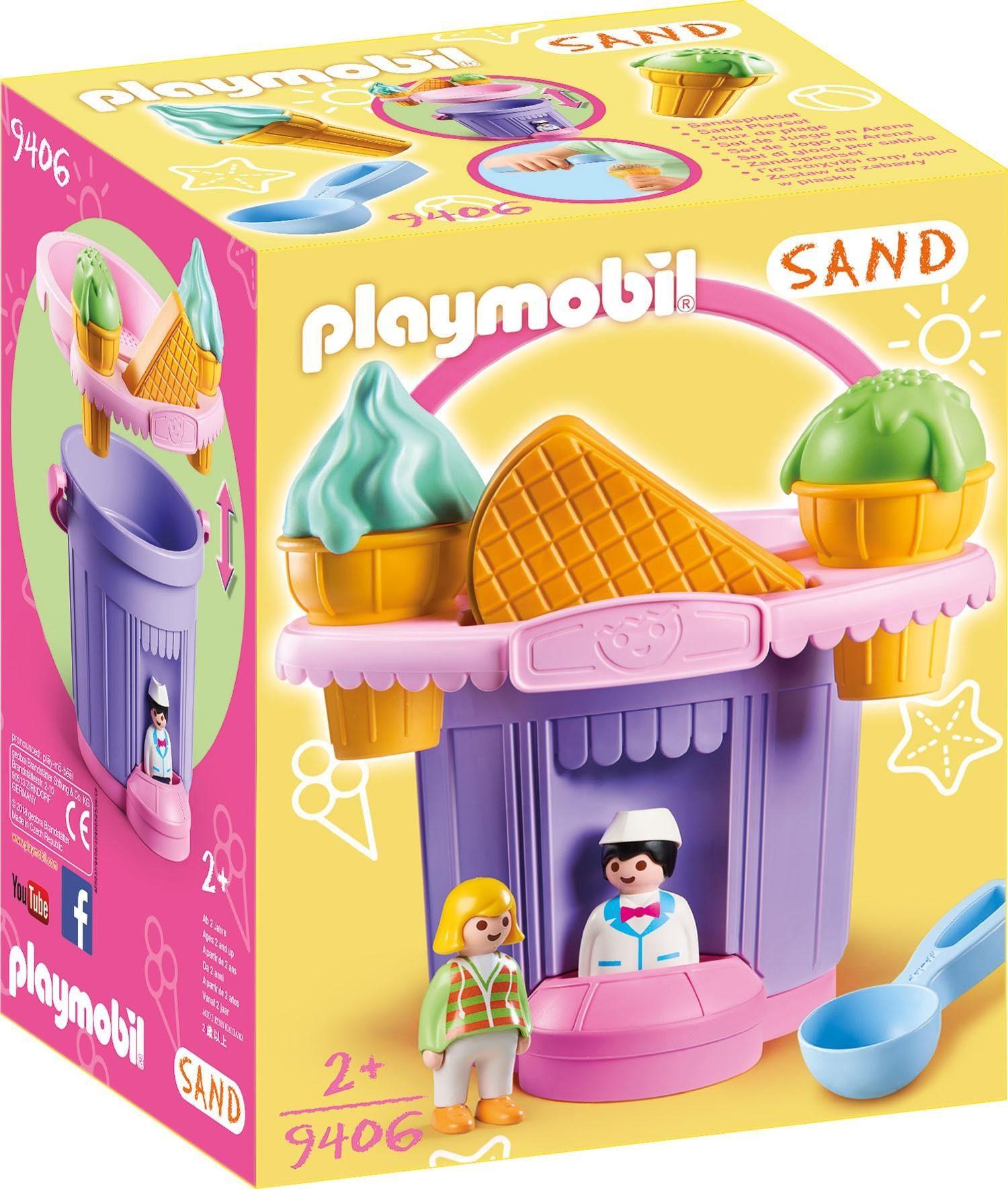 Playmobil® Sandeimerchen Eisdiele (9406), »Sand«