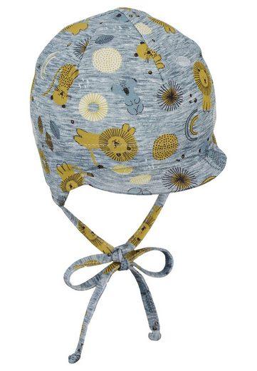 Sterntaler® Schirmmütze »Schirmmütze« (1-St) mit Ohrenklappen und Bindeband
