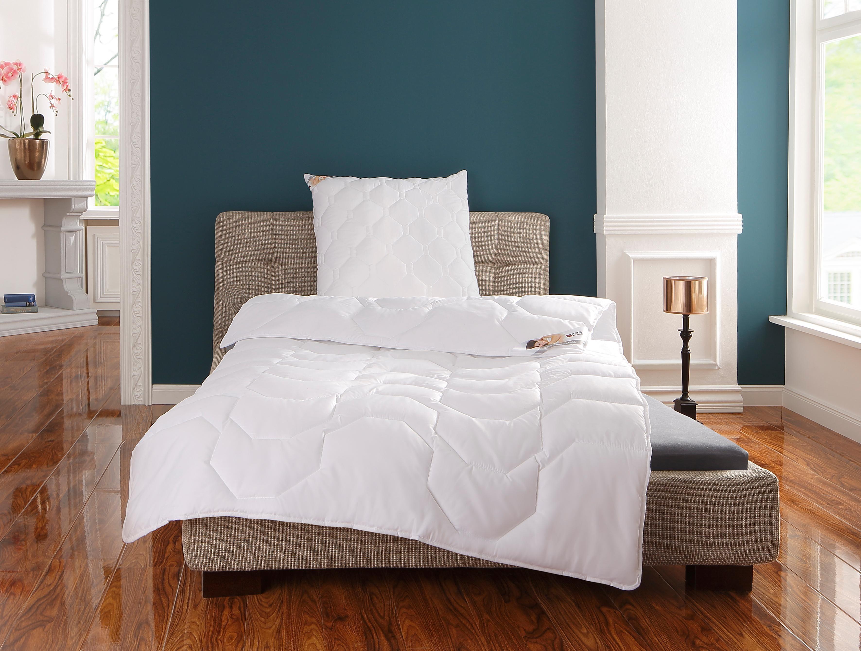 Microfaserbettdecke, »BW70 Kochfest«, my home, leicht, Bezug: 100% Baumwolle, (1-tlg) | Heimtextilien > Decken und Kissen > Bettdecken | my home