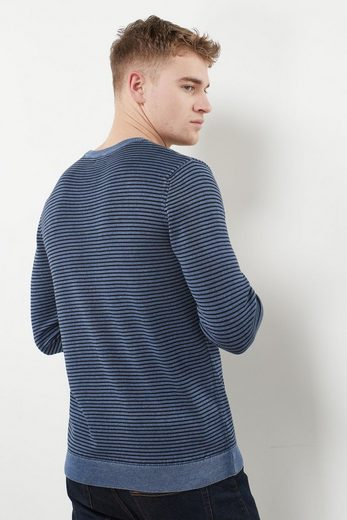 Next Garngefärbter Pullover mit Rundhalsausschnitt und Streifenmuster