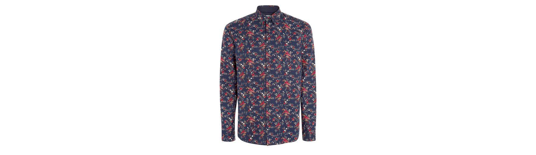 Auslass Besuch Neu Next Langarmhemd mit Blumenmuster Auf Heißen Verkauf Rabatt Kaufen 6RMJQJ3