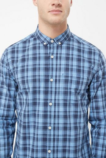 Next Plaid Shirt With Long Sleeves