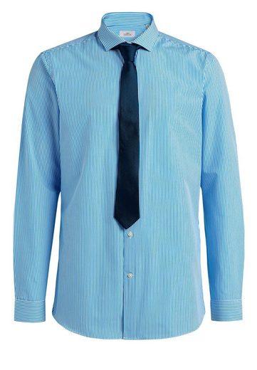 Next Gestreiftes Slim-Fit-Hemd im Set mit Krawatte