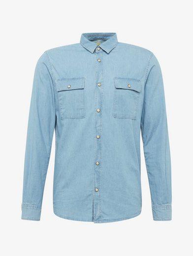 Tom Tailor Hemd gemustertes Hemd mit Brusttaschen