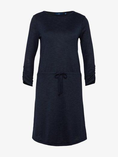 Tom Tailor Jerseykleid Kleid mit Bindeband auf Taillenhöhe
