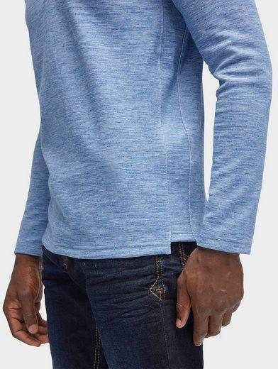 Tom Tailor Langarmshirt gestreiftes Shirt mit Brusttasche