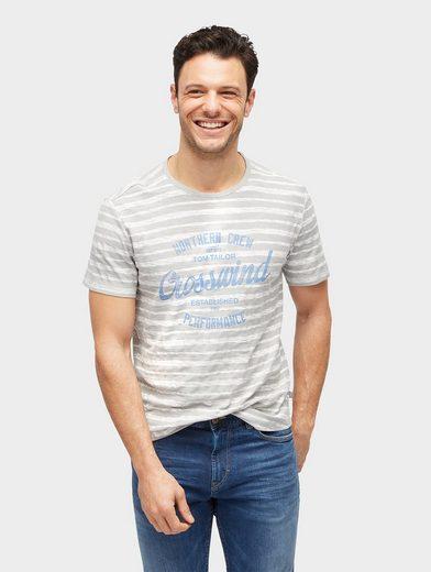 Tom T-shirt T-shirt À Rayures Avec Imprimé