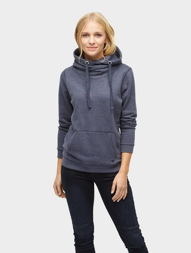 Tom Tailor Sweatshirt Hoodie in Melange-Optik