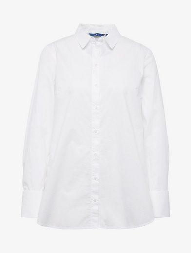 Tom Tailor Langarmbluse Bluse mit Knoten-Detail am Ärmel