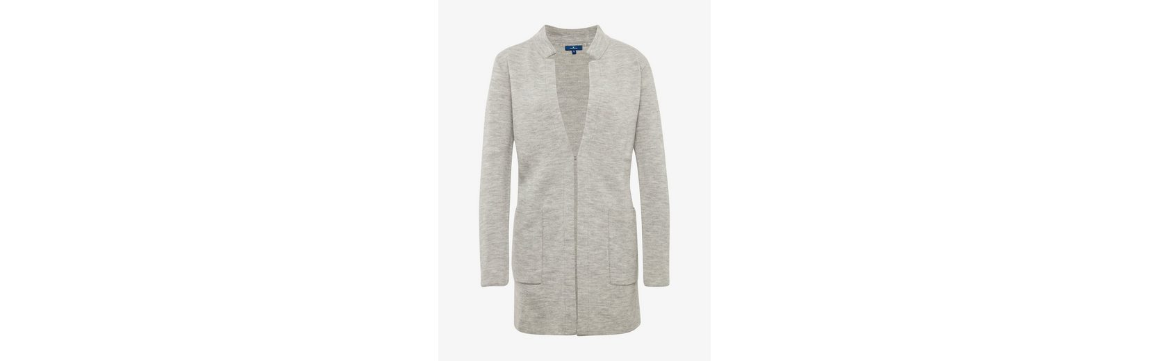 Tom Tailor Cardigan Coatigan in Melange-Optik Steckdose Zuverlässig WpGTEr04k