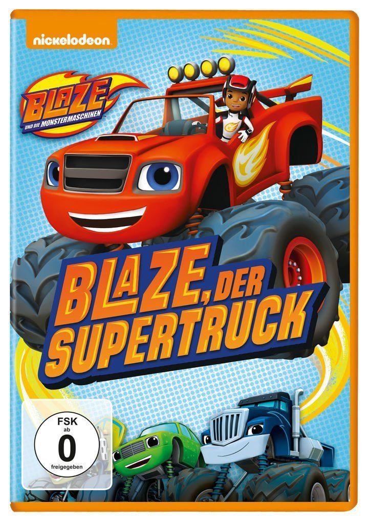 Universal DVD - Film »Blaze und die Monster-Maschinen (Vol. 1): Blaze, d«