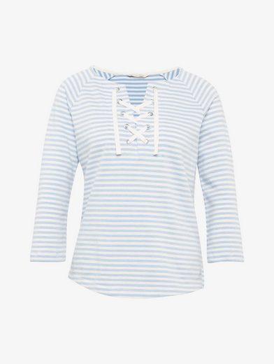 Tom Tailor Denim Sweatshirt gestreiftes Sweatshirt